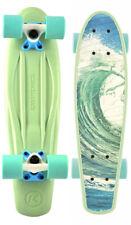 Longboard Skateboard Cruiser KRYPTONICS CLASSIC TORPEDO 22.5 Cruiser pastel sea
