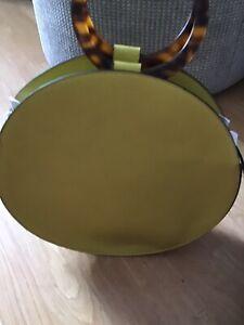 M&S YELLOW CIRCULAR SHOULDER/HANGBAG BNWT RRP £39.50 Handbag