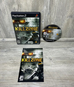 NICE DISC! Killzone 1 PlayStation 2 PS2 Complete CIB Black Cleaned & Tested
