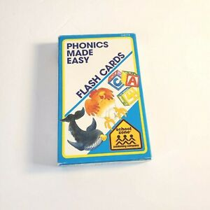 Phonics Made Easy Flash Cards Home School Summer Learning
