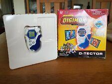 Bandai Digimon Season 4 D-Tector Digivice Blue and White English version + box
