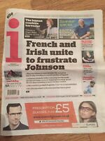 Ginger Baker Obituary Front Page Cream Newspapers The I 07/10/2019