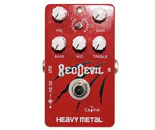 """Caline CP-30 """"Rojo Devil"""" Heavy Metal Pedal de efectos (desde el Reino Unido)"""