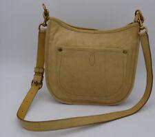 NWT  FRYE Campus Rivet Crossbody Leather Handbag Banana DB076