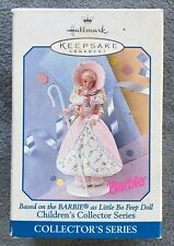 1996 Hallmark Keepsake Ornament Barbie as Little Bo Peep Doll Collector Series#2