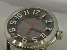 Tendence Swiss 3H Watch Grey Dial Stainless Steel Bracelet Date Quartz TG450052