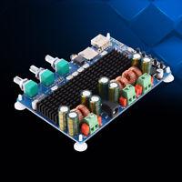 Digital 2.1 Channel Amplifier Board Bluetooth USB Input 50W+50W Output 100W