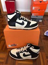 Nike Dunk High (VNTG) 11.5us Black Natural 318850-101