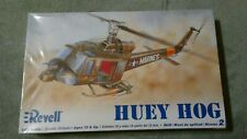 2006 Revell Huey Hog Marine Helicopter / Chopper Model Kit 1:48 Scale - Skill 2
