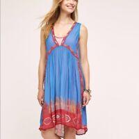 NWOT ANTHROPOLOGIE TANVI KEDIA Island DRESS Size XS MSRP $198