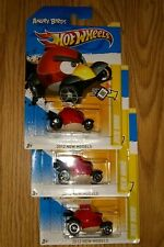 Hot wheels - Angry Birds Red Bird (Lot of 3)Hot Wheels New in Package