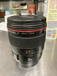 Canon EF 35mm f1.4 L USM Lens 35/1.4 SHARP!!!