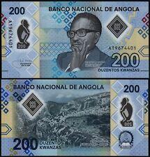 ANGOLA 200 KWANZAS (P NEW) 2020 POLYMER UNC