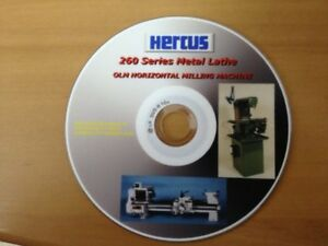 GENUINE HERCUS DVD ON HOW TO OPERATE HERCUS 260 LATHE AND OLM MILLING MACHINE