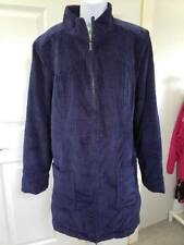 Denim & Co. Wide Wale Corduroy Zip Front Jacket A284542 NAVY LARGE