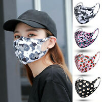 Mundschutz Behelf-Mund-Nasen-Atem-Schutz Maske Wiederverwendbar Waschbar