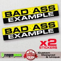 SLOW /& STEADY Funny Bumper Sticker Vinyl Decal Car race JDM fit Jeep Dodge 4x4