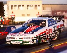 FUNNY CAR PHOTO JOHN FORCE DRAG RACING SEARS POINT 1989 NHRA OLDSMOBILE