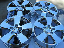 "20"" BRAND NEW CHROMED 2012 DODGE RAM 1500 FACTORY OEM ORIGINAL WHEELS. NO TIRES."