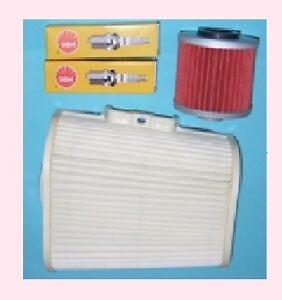 Service kit- Plugs Air & Oil Filter for YAMAHA XV VIRAGO XV750 XV1000 & XV1100