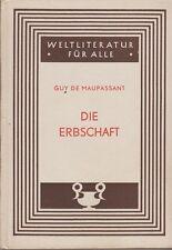 Guy de Maupassant: le legs de 1948