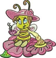 BUZZY BEES - 10 MACHINE EMBROIDERY DESIGNS - 2 SIZES