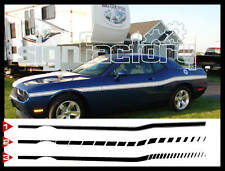 Retro Decal Stripes Fits 2009 2015 2020 Dodge Challenger Rt Srt Scat Pack Sxt
