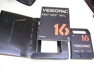 Philips Videopac Game 1980 * 16 MARKSMAN / DEPTH CHARGE * CARDBOARD EDITION
