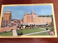 Vintage Hot Springs, Arkansas Post Card