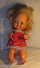 1980 Mattel Baby Tippee Toes Doll with Original Outfit