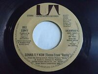 Bill Conti Gonna Fly Now Rocky Theme / Reflections 45 United Vinyl Record