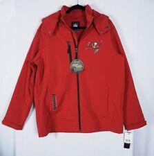 G-III Tampa Bay Buccaneers Mens 3 Layer Bonded Soft Shell Hood Jacket Coat LARGE
