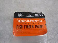 YakAttack Lowrance Fish Finder Mount - Black