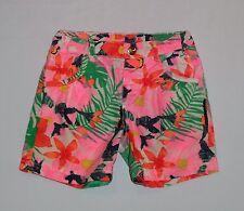 H&M Bright Tropical Floral Shorts, 2-3 yrs