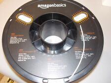 Amazon Basics ABS 3D Printer Filament 1.75mm White Spool
