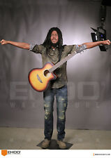 Life Size Bob Marley Music Singer Statue Realistic Prop Display 1:1