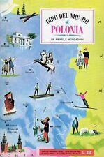 ALBUM FIGURINE GIRO DEL MONDO COMPLETO POLONIA