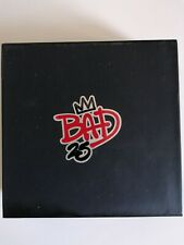 MICHAEL JACKSON BAD 25th ANNIVERSARY DELUXE EDITION 3 CD 1 DVD POSTER FOTO BOOK