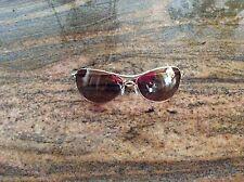 Oakley Warden Aviator Sunglasses ~ Polished Gold Stretchline ~ VR28 Gold Iridium