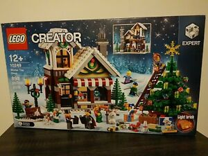 Lego Creator Winter Toy Shop 10249 Christmas Complete With Box & Instructions