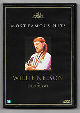 DVD / WILLIE NELSON & LEON RUSSEL MOST FAMOUS HITS (MUSIQUE CONCERT)