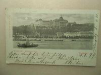 Ansichtskarte Ungarn Budapest Königl. Burg 1899
