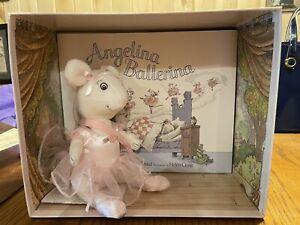 angelina ballerina american girl doll with book