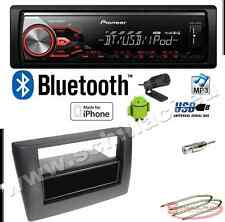Pioneer MVH-390BT autoradio USB / bluetooth + Kit montaggio per Fiat stilo