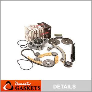 00-11 2.2L Chevy Pontiac Saturn GMB Water Pump Timing Chain Balance Shaft Kit