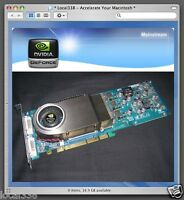 Genuine Mac Geforce 6800 GT 256mb AGP Graphics Video Card For PowerMac G5
