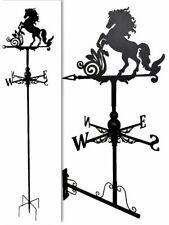 Wall mounted and Floor standing Weathervanes Steel Horse Weathervane