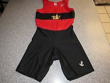 VINTAGE PLAYER ISSUED GAME WORN UNIVERSITY OF TAMPA ROWING SUIT SINGLET SMALL