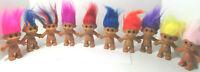 Russ Troll Doll Naked Nude Blue Pink Orange Rainbow Yellow Purple Red Magenta