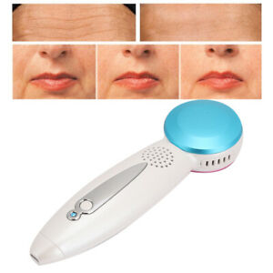 Ultrasonic Cryotherapy Hot Cold Hammer Facial Vibration Skin Anti-Aging Massager